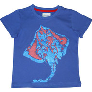 Boys Blue Stingray T Shirt.