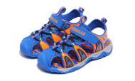 Boys Blue & Orange Beach Sandal.