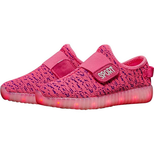 Pink LED Light Up Shoes