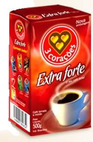 Brazilian Coffee 3 Coracoes Extra Strong 8.8oz