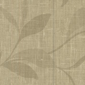 Contemporary Beyond Basics Flora Leaves Taupe Wallpaper 420-87135