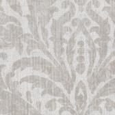 Contemporary Beyond Basics Twill Damask Silver Wallpaper 420-87136