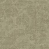 Contemporary Beyond Basics Twill Damask Goldstone Wallpaper 420-87139