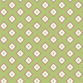 GE3618- Ashford House Geometrics Moroccan Spot Green Wallpaper