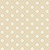 GE3619- Ashford House Geometrics Moroccan Spot Beige Wallpaper