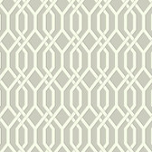 GE3682-Ashford Geometrics Garden Pergola Grey Wallpaper