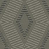 GE3689-Ashford Geometrics Aspen Grey Wallpaper