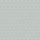 GE3698-Ashford Geometrics Chalet Grey-White Wallpaper