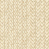 GE3707-Ashford Geometrics Graphic Knit Beige Wallpaper