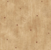 BBC16074 Dusty Sand Heritage Star Toss Wallpaper Wallpaper