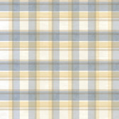 BBC21536 Joshua Blue Sunday Plaid Tartan Wallpaper Wallpaper