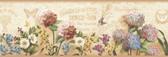 BBC44521B Poste Cream Springtime Trail Border