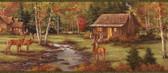 BBC49465 Welsh Cream Pinecone Toss Wallpaper Wallpaper