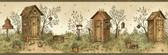 BBC58516 Charles Cream Lookout Stripe Wallpaper Wallpaper