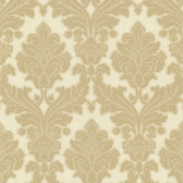 Bradford Hughes Royal Damask Gold Wallpaper 492-2114