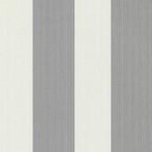 Bradford Hudson Broad Stripe Pearl-Grey Wallpaper 492-2304