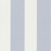 Bradford Hudson Broad Stripe Ivory-Cornflower Wallpaper 492-2305