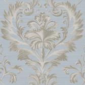 Brilliance Tangler Brilliant Damask Spruce Wallpaper BRL980020