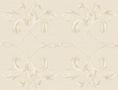 Brilliance April Acanthus Lattice Linen Wallpaper BRL980116