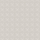 Brilliance Alexi Ornate Criss Cross Periwinkle Wallpaper BRL98046
