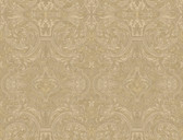 Brilliance Guinevere Baroque Marquetry Biscotti Wallpaper BRL980514