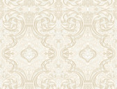 Brilliance Guinevere Baroque Marquetry Linen Wallpaper BRL98057