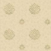 Brilliance Meadow Medallion Sepia Wallpaper BRL980811