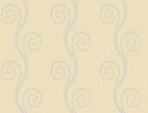 Brilliance Vortex Modern Trail Latte Wallpaper BRL98104
