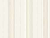 Brilliance Poppy Baroque Stripe Linen Wallpaper BRL981313