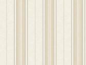 Brilliance Poppy Baroque Stripe Sand Wallpaper BRL98137