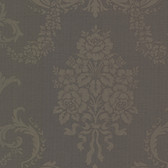 Buckingham Chambers Floral Damask Grape Wallpaper 495-69039
