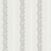 Buckingham Rennie Scrolling Stripe Cloud Wallpaper 495-69046