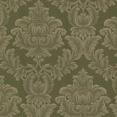 Oldham Damask Seaweed Wallpaper 2601-20802