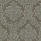 Oldham Damask Charcoal Wallpaper 2601-20804