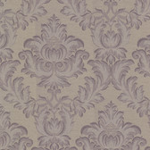 Oldham Damask Taupe Wallpaper 2601-20805