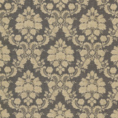Marsden Damask Charcoal Wallpaper 2601-20858