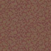 Parkside Scroll Wine Wallpaper 2601-20880