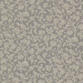 Parkside Scroll Smoke Wallpaper 2601-20883