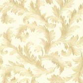 Harper Acanthus Trail Gold Wallpaper 2601-20890