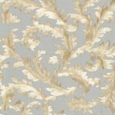 Harper Acanthus Trail Slate Wallpaper 2601-20893