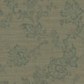 Carleton Jacobean Trail Pine Wallpaper 292-80604