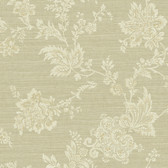 Carleton Jacobean Trail Ecru Wallpaper 292-80608