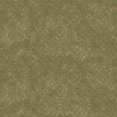 Carleton Dense Medallion Moss Wallpaper 292-81204