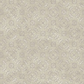 Carleton Dense Medallion Oat Wallpaper 292-81209