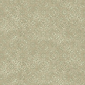Carleton Dense Medallion Olive Wallpaper 292-81214