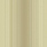Carleton Pin Stripe Flaxen Wallpaper 292-81303