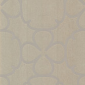Contemporary Geometric Ironwork Umber Wallpaper 302007