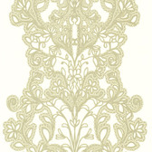Contemporary Lace Gold Wallpaper 302016