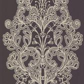 Contemporary Lace Wine Wallpaper 302018