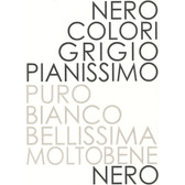 Contemporary Letters Silver-White Wallpaper 302028
